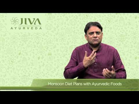 Monsoon Diet Plans with Ayurvedic Foods