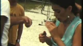 Natalie Martinez Secret Smoking Video!