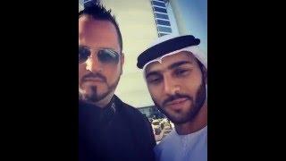 Star Bodyguard Patrick Baiata with Sheikh Amru at Burj al Arab in Dubai!