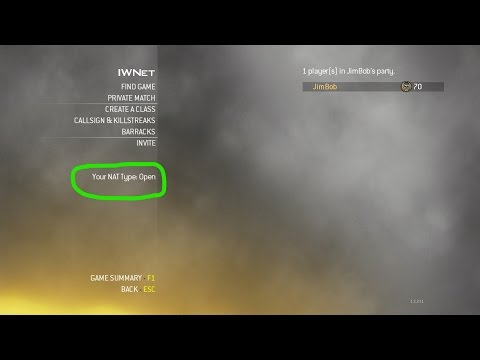 Call of Duty  Modern Warfare 2 - How to fix strict Nat type. [PC]