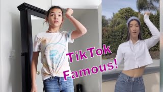 Trying to become TIK TOK Famous! MYSTERY CELEBRITY chooses the WINNER!