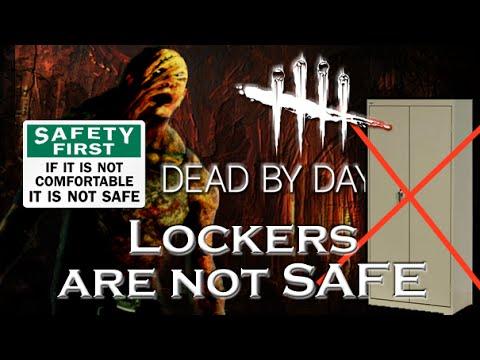 Lockers are Not Safe - Dead by Daylight - Rank 1 Killer #16 HillBilly