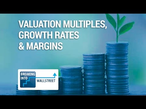 Valuation Multiples, Growth Rates, and Margins