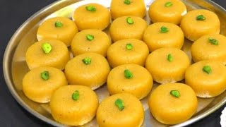 Tasty peda recipe milk sweet