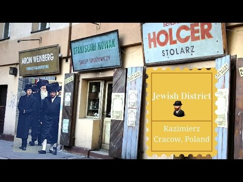 Special Jewish visit in Kraków/Poland Jewish District - Kazimierz Part 1