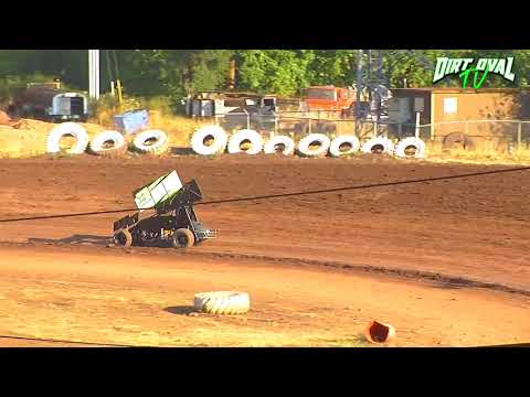 8 25 18 Limited Sprint Cars Qualifying @ Cottage Grove Speedway