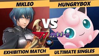 M-Kolosseum SSBU - Liquid | Hungrybox (Jigglypuff) Vs. T1 | MkLeo (Byleth) Smash Ultimate Exhibition