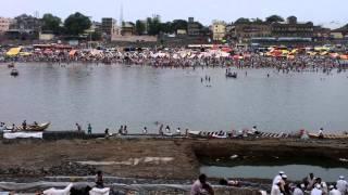 Chandrabhaga River next to Iskcon Pandharpur