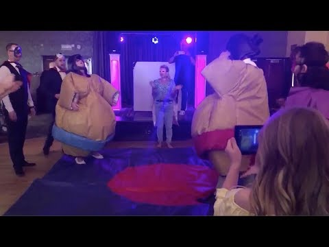 Doug & Scarpetti - Newlyweds Sumo Wrestling for First Dance