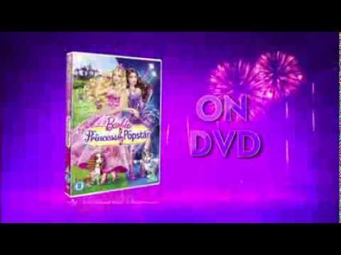 Barbie: The Princess & the Popstar on DVD