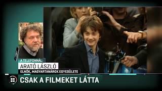 Maróth Miklós szerint Harry Potter helyett népmeséket kellene olvasni a gyerekeknek12-30
