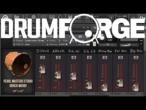 Drumforge - Eyal Levi Expansion Walkthrough and Demo