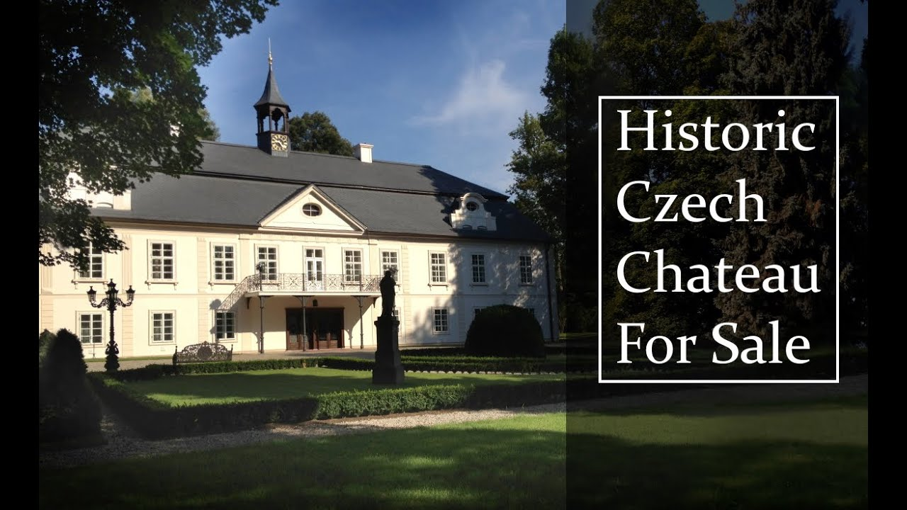 Historic Czech Chateau For Sale. A Luxurious, Renovated Chateau With Equestrian Facilities