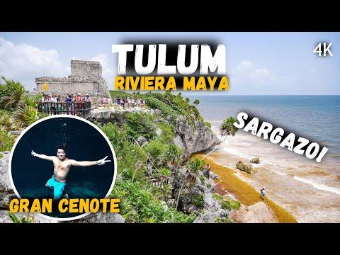 ZONA ARQUEOLÓGICA DE TULUM Y GRAN CENOTE | MÉXICO | 4K |