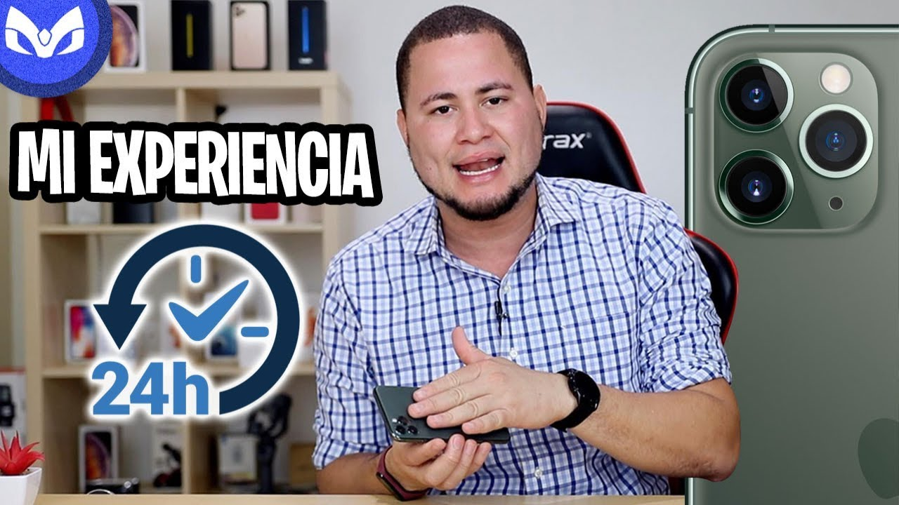 24 HORAS CON iPhone 11 PRO MAX – MarcianoTech ft ChicoTech