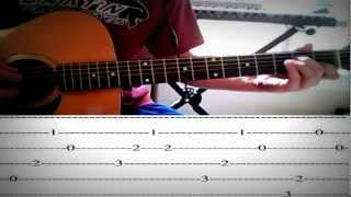 Flo Rida-Whistle Guitar Lesson/Tutorial with Tabs