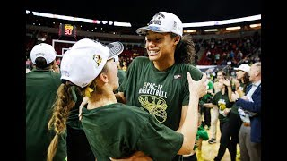 Oregon Ducks celebrate program\'s first Pac-12 Tournament title in Seattle