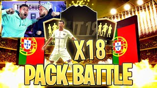 Kann Timo seine EHRE RETTEN ? 18x Garantierte IF-Sets PACK BATTLE 🔥FIFA 19 Timo VS Simon