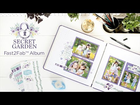 Secret Garden Fast2Fab™ Album | Creative Memories Australia