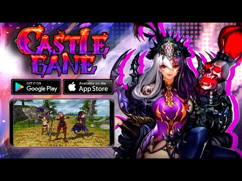 CASTLE BANE - Gameplay Android, IOS (RPG)