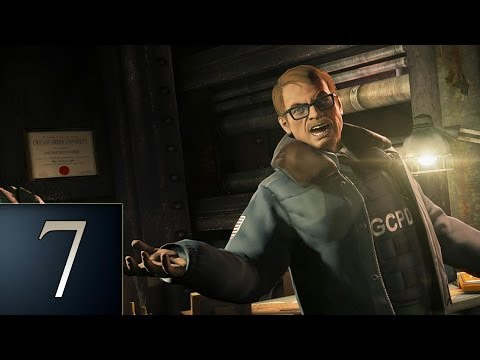Batman Arkham Origins - Part 7 - Gotham City Police Department - Gameplay Walkthrough
