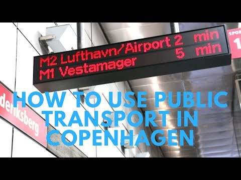 Moving around Copenhagen - How to use public transport in Copenhagen