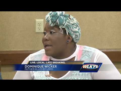 Family of Ferguson teen killed by police speaks to young people in Louisville