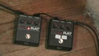 ProCo Turbo Rat LM308N Chip Comparison on Bass