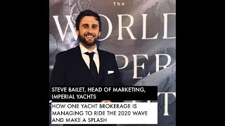How one Monaco based yacht brokerage is managing to ride the 2020 wave and make a splash...