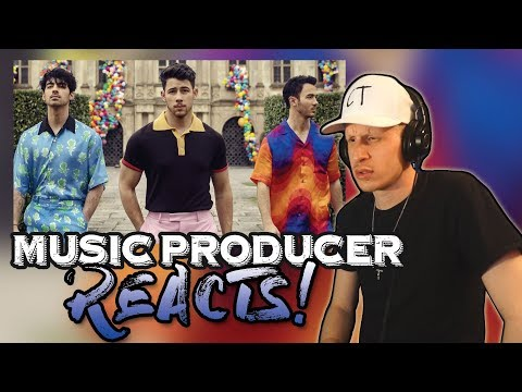 Music Producer Reacts To Jonas Brothers - Sucker
