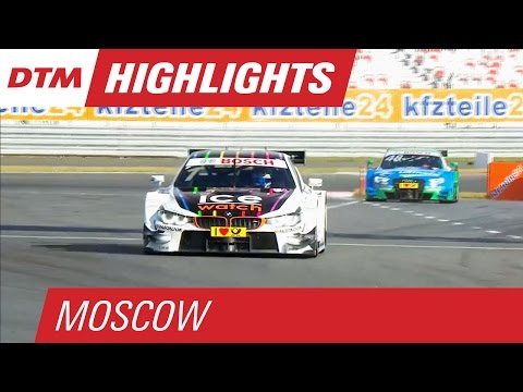 DTM Moscow 2015 - Highlights