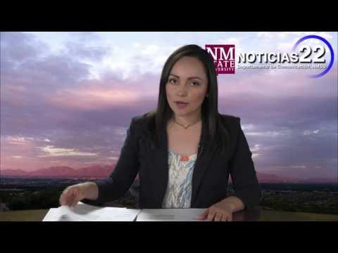 NOTICIAS 22 NMSU, DEPARTAMENTO DE PERIODISMO 4 DE MAYO DE 2017, NMSU JOURNALISM