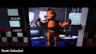 Пять ночей с мишкой Фреди охранник в шоке