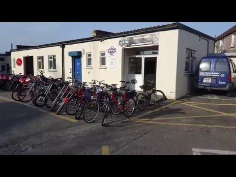 Push Bike Engine shop in Dublin