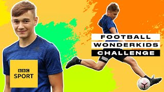 Leicester City's Will Alves has feet for days! | Football Wonderkids Challenge