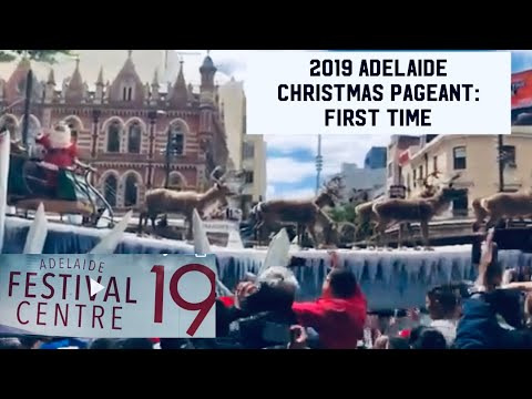 2019 The Adelaide Christmas Pageant/ Parade: Festival In South Australia || Jc & Liza Channel