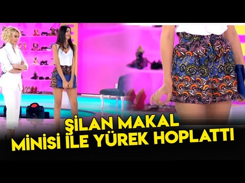 Şilan Makal Mini Eteği İle Yürek Hoplattı!