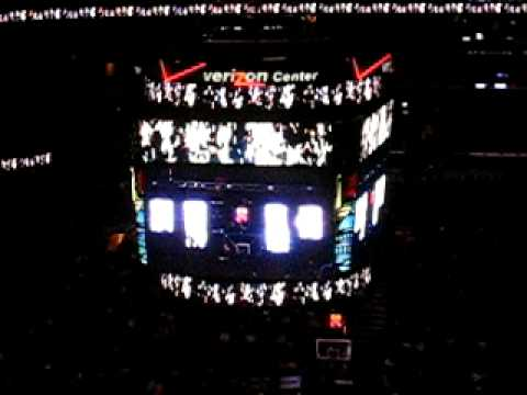 Washington Wizards 2008-2009 Player Intros - Part 2