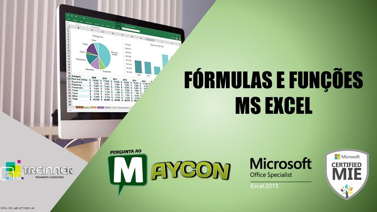 Funções no Excel - Aula 13 (Arredondamentos)