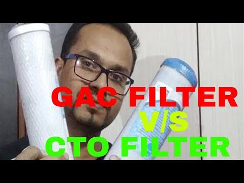 GAC Filter V/S CTO Filter Of Reverse Osmosis