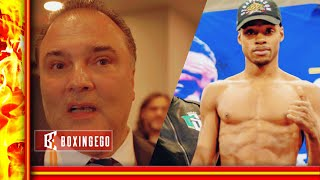 "ERROL SPENCE NOW ""KING OF THE SPORT"" PACQUIAO VS SPENCE JR CAN BREAK UK ATTENDANCE RECORDS SCHAEFER"