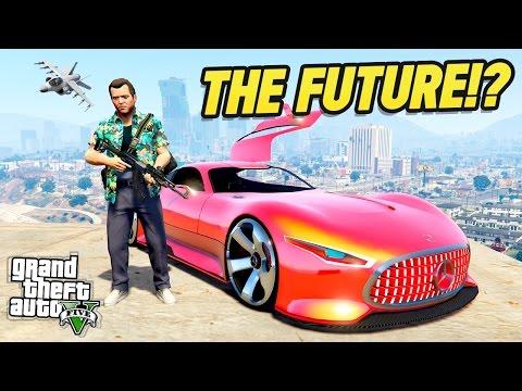 GTA 5 : FUTURE CONCEPT CAR?! (GTA 5 Mods)