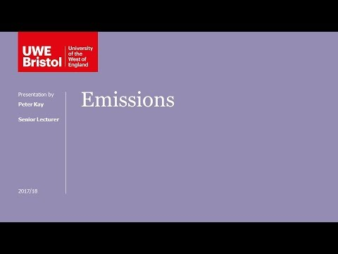 Emissions - Part 1 of 6 - Introduction