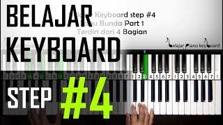 Belajar Keyboard #4 - Tutorial Lagu Bunda Part 1 | Pemula