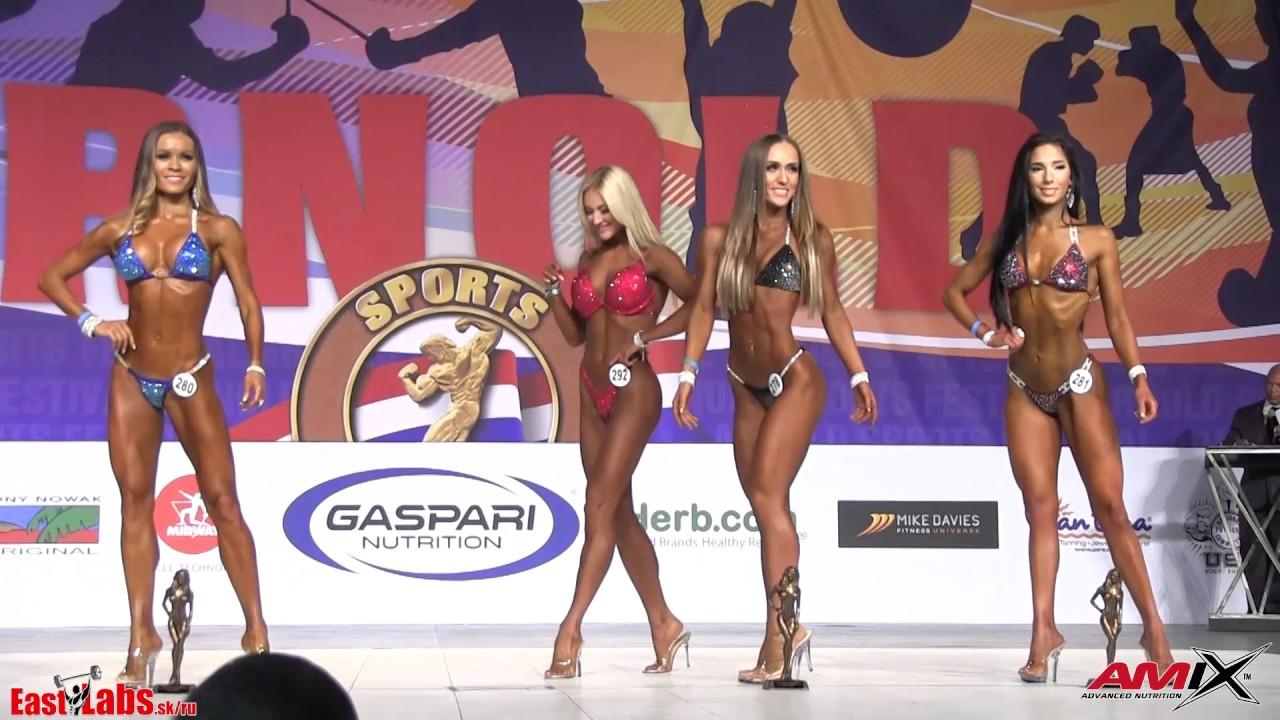 2017 Arnold Classic Amateur USA Bikini Fitness Awards - Group E