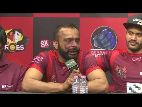 Press Conference  - Gujarat Warriors VS Delhi Heroes