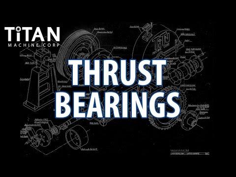 Thrust Bearings - Geared Elevator Machines