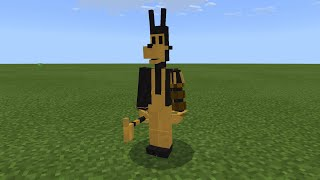 REAL BENDY THE INK MACHINE MOD in Minecraft PE