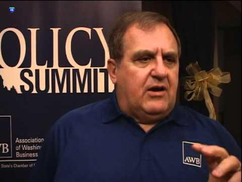 Suncadia hosts Policy Summit President of Association of Washington Business 'A.W.B' Don Burnell