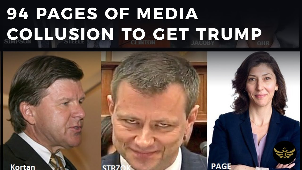 94 page PDF details Deep State-Media collusion to destroy Trump